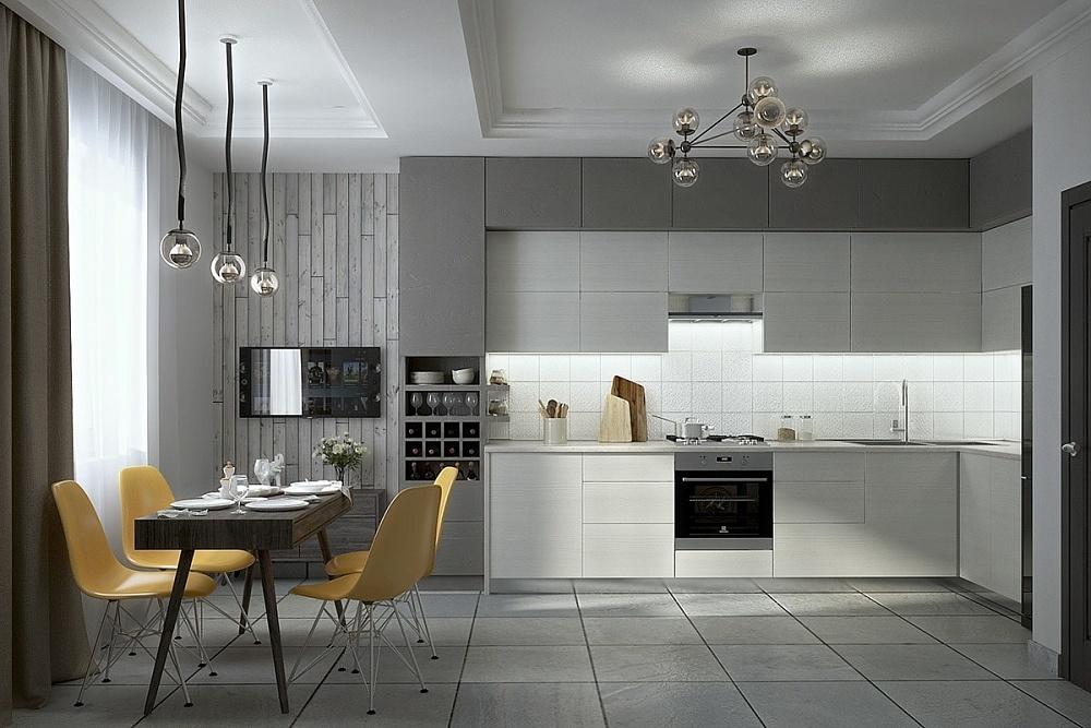 Современный дизайн кухни картинки